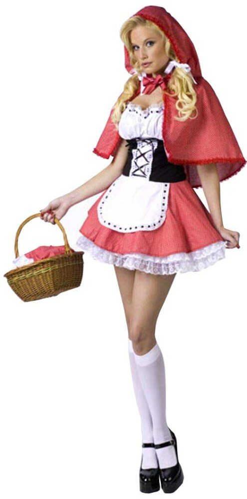 Sexy red riding hood costume picture 24