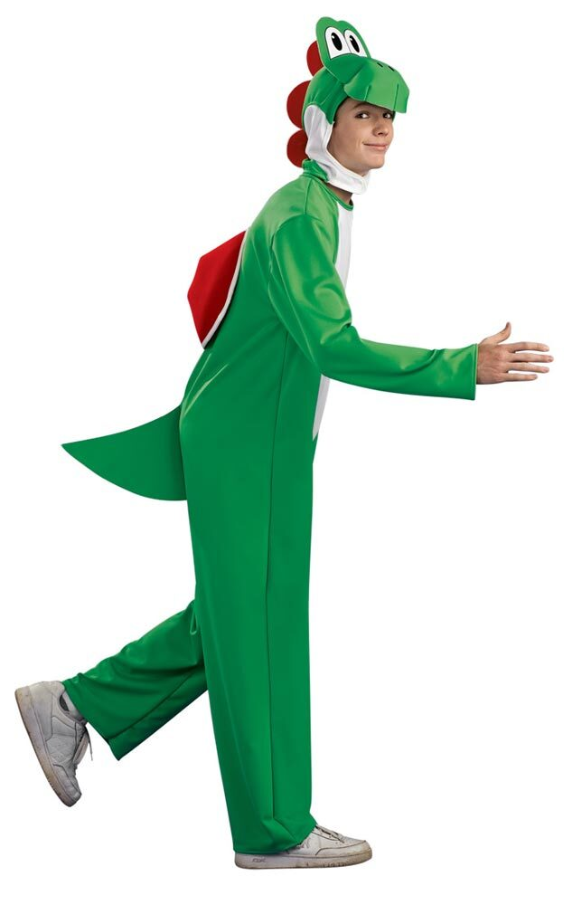 Yoshi Costume For Kids Adult Mario Brothers Y...