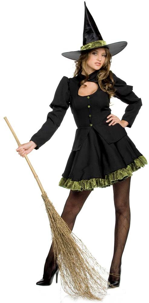 Totally Wicked Sexy Witch Costume - Mr. Costumes