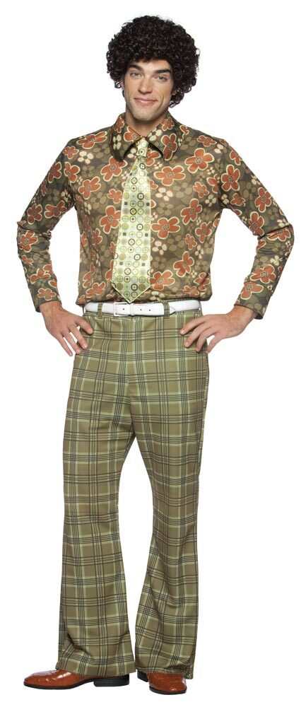 Mike Brady Adult 70s Costume - Mr. Costumes