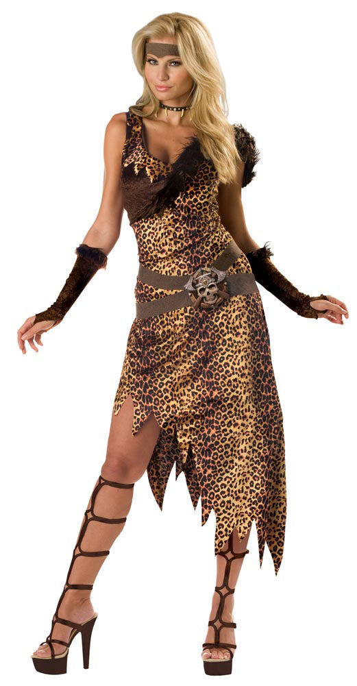 Adult Cave Woman Costume Mr Costumes