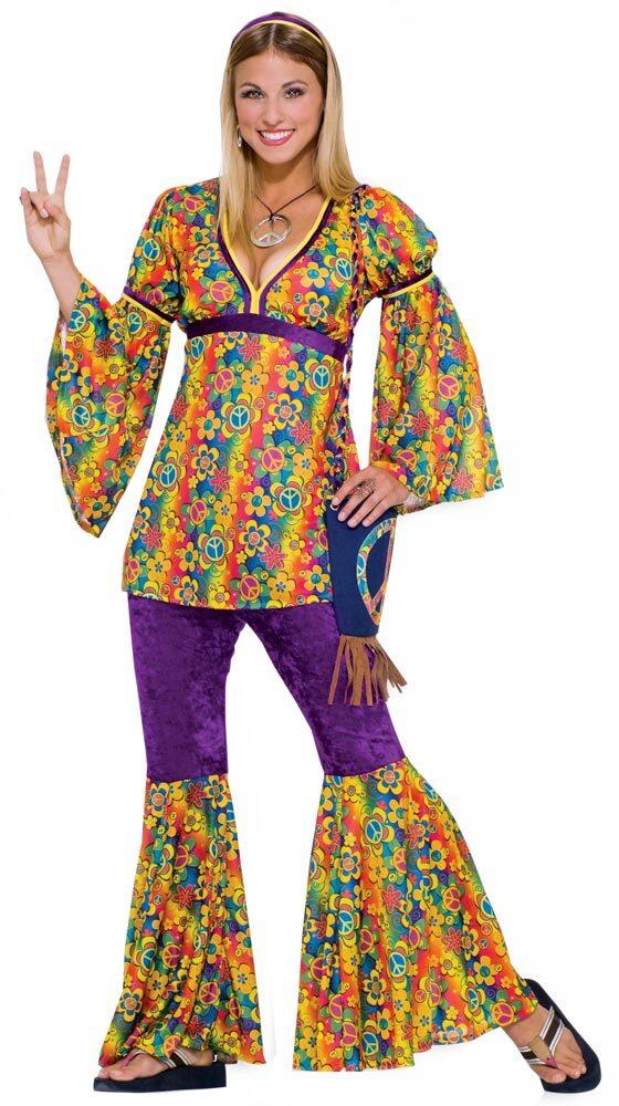 sc 1 st  Mr. Costumes & Womens Purple Haze Adult Hippie Costume - Mr. Costumes