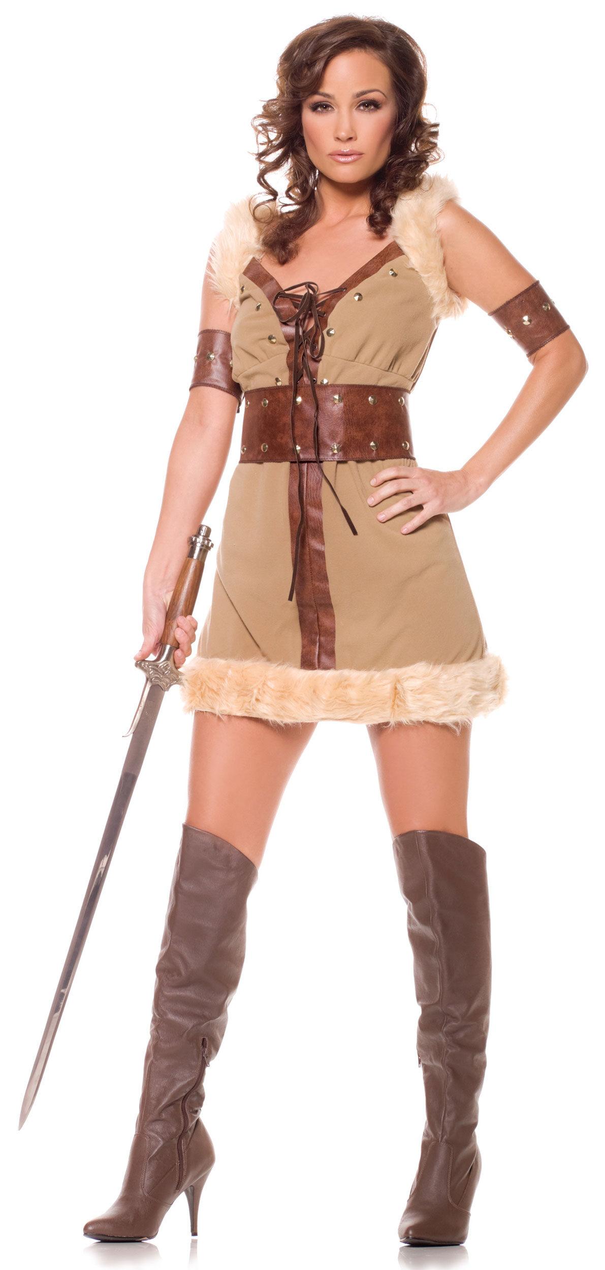 Wild Thing Womens Sexy Viking Costume - Mr. Costumes