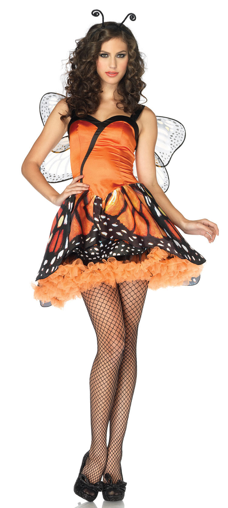 Sexy Lovely Monarch Butterfly Costume