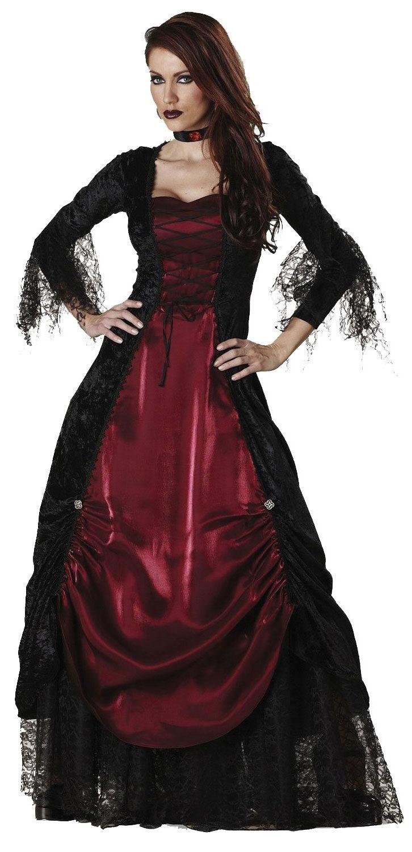 Womens Gothic Vampire Costume - Mr. Costumes Gothic Vampire