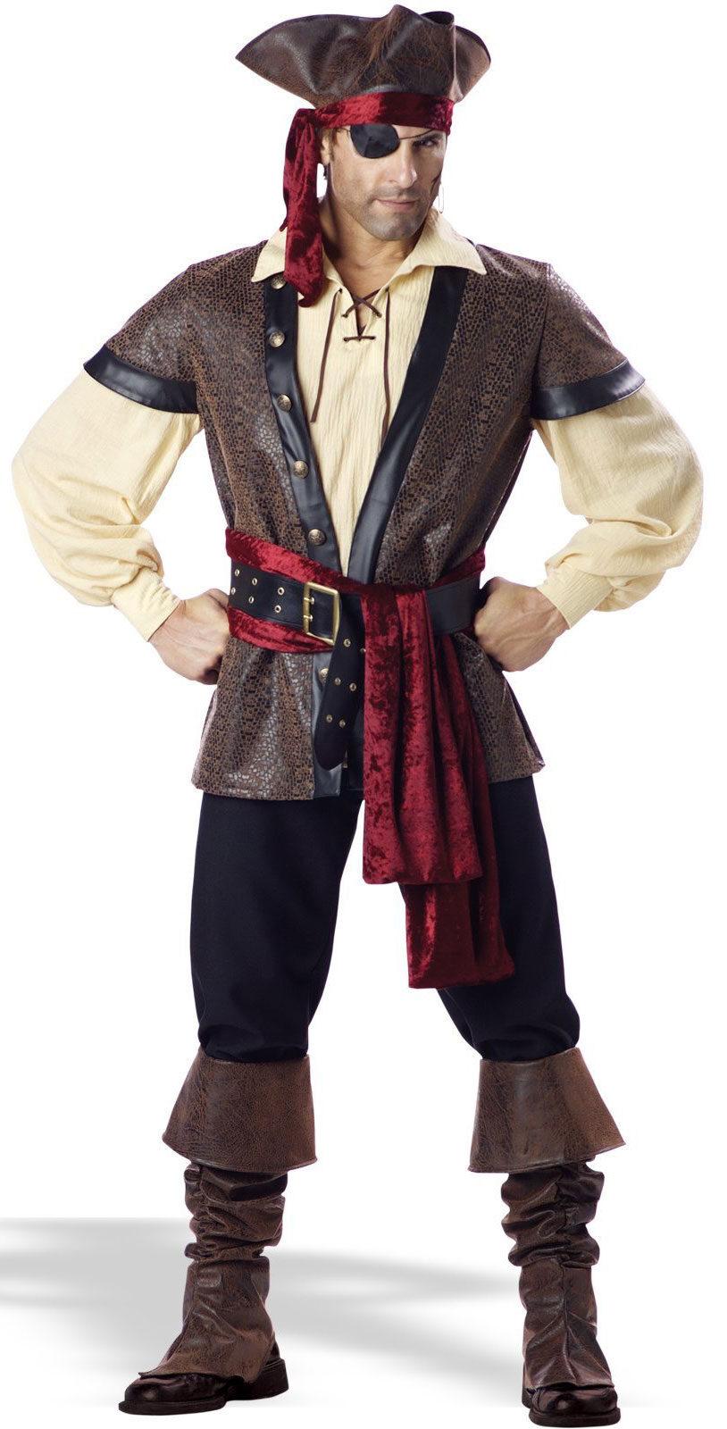 mens rustic pirate costume mr costumes