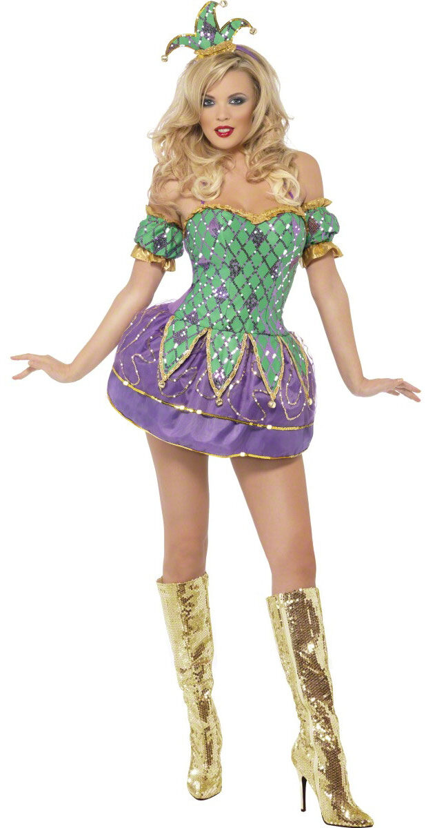 Sexy mardi gras dress