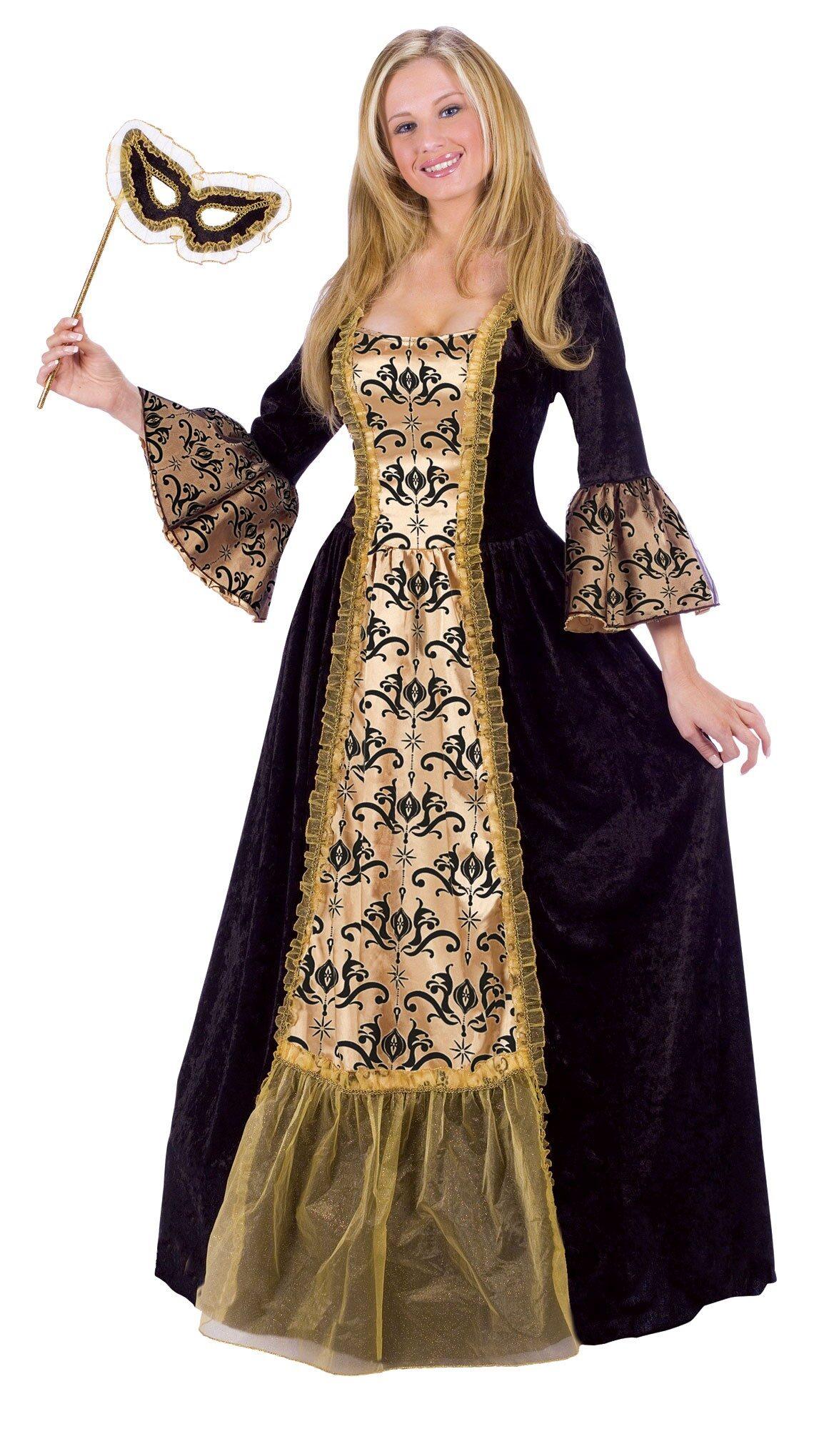 Womens Masquerade Queen Adult Costume - Mr. Costumes