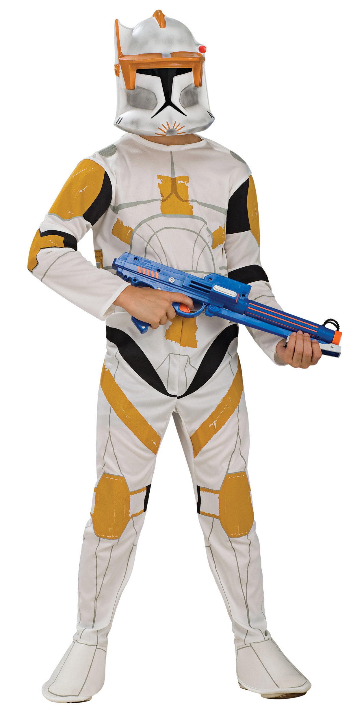 kids commander cody clone trooper costume mr costumes. Black Bedroom Furniture Sets. Home Design Ideas