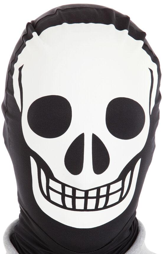 Skeleton Morph Mask Mr Costumes