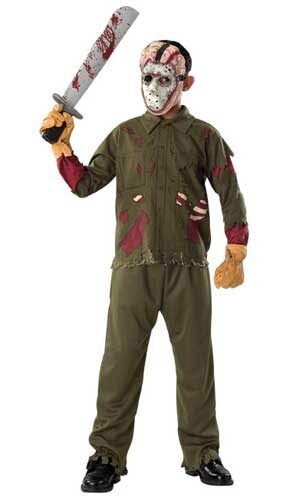 Friday the 13th Jason Deluxe Kids Costume - Mr. Costumes