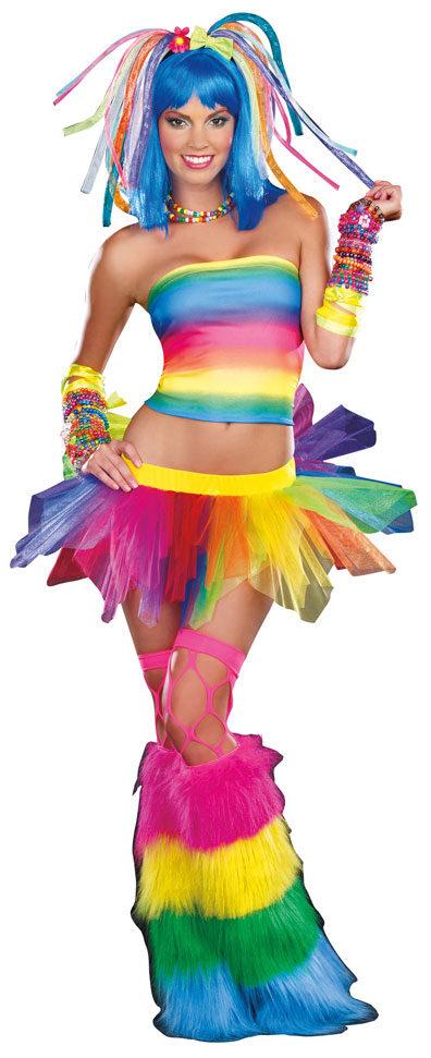 Sexy Kandi Kid Cyber Gothic Costume