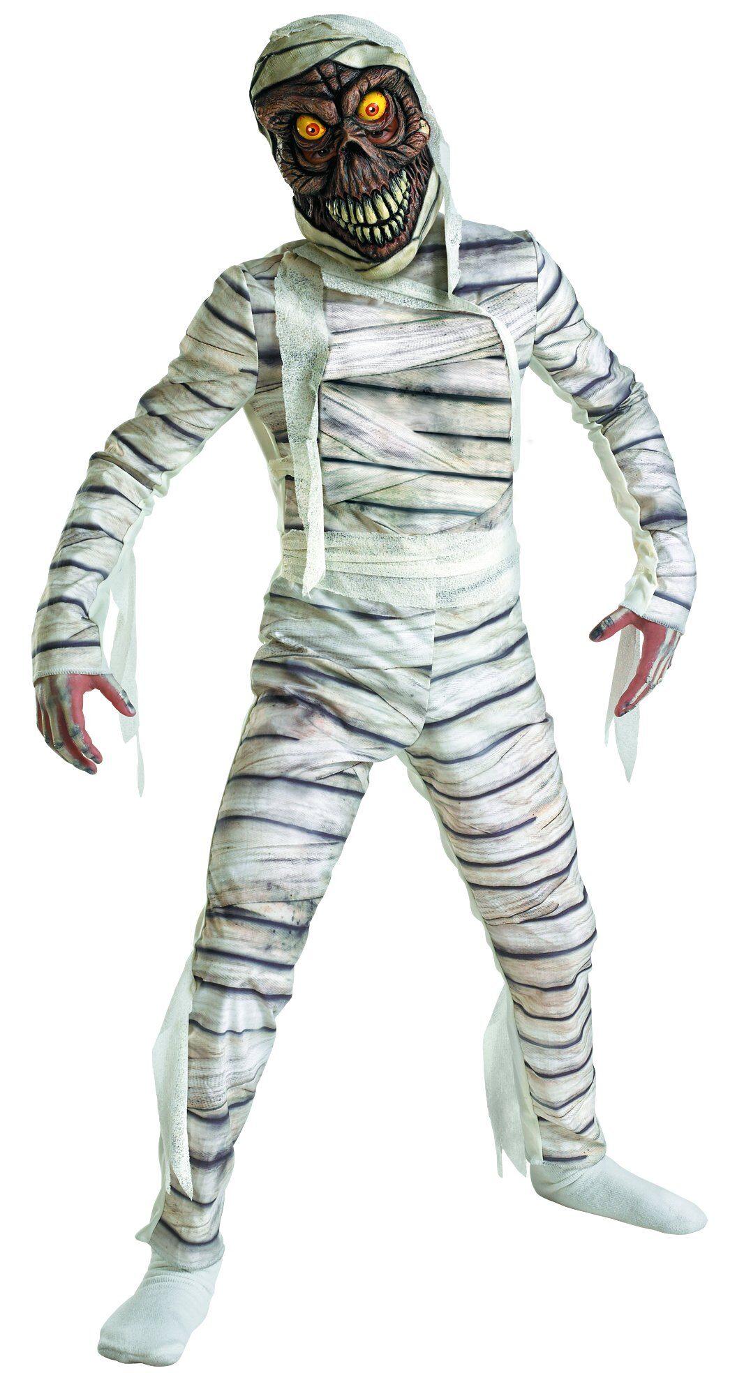 Маска мумии своими руками