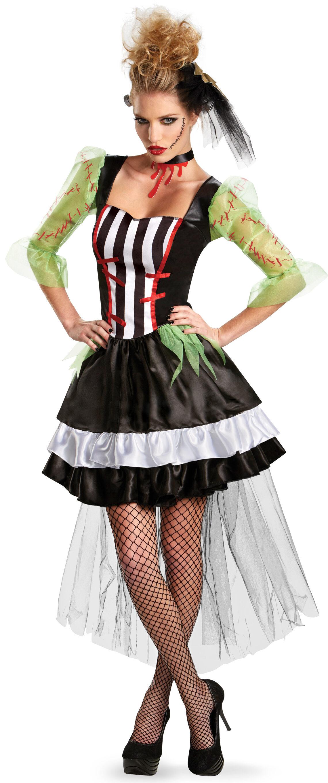 Monsterous Bride Adult Costume - Mr. Costumes
