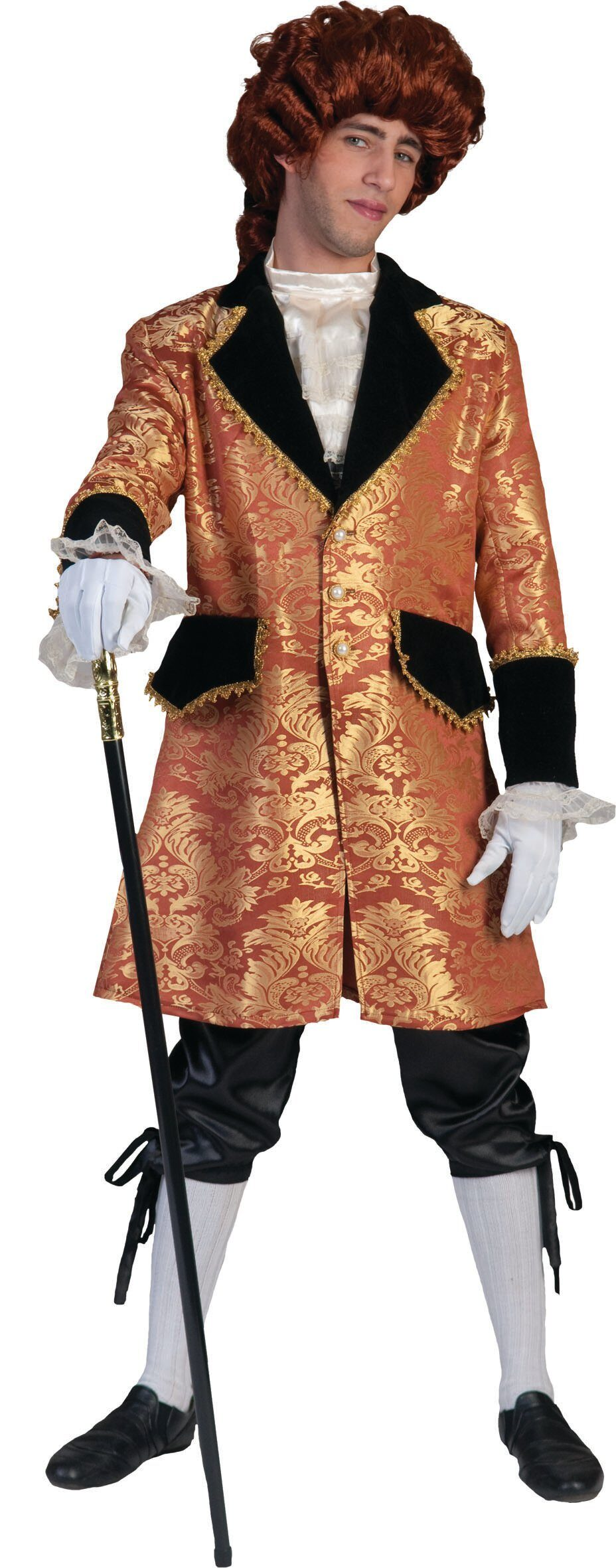 French Charles at Court Adult Costume - Mr. Costumes