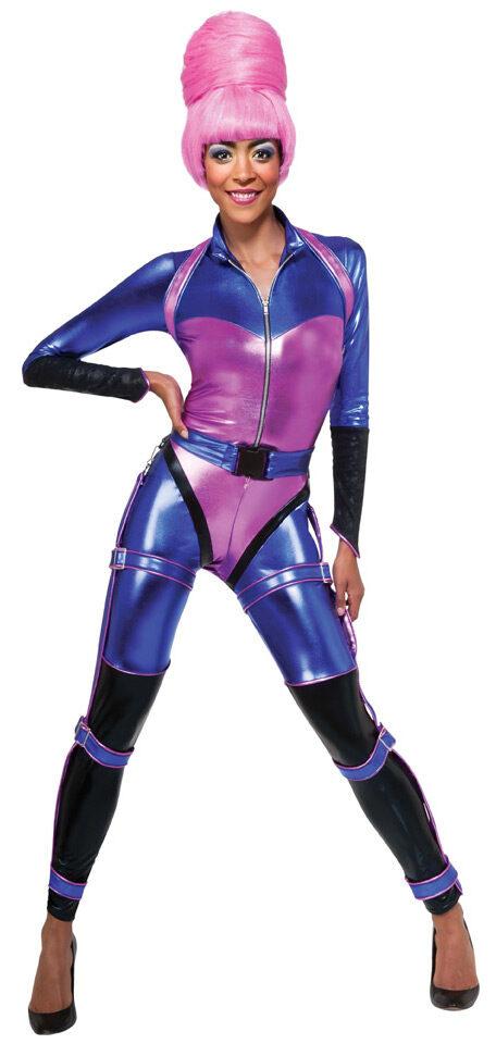 Nicki Spacesuit Rockstar Adult Costume Mr Costumes