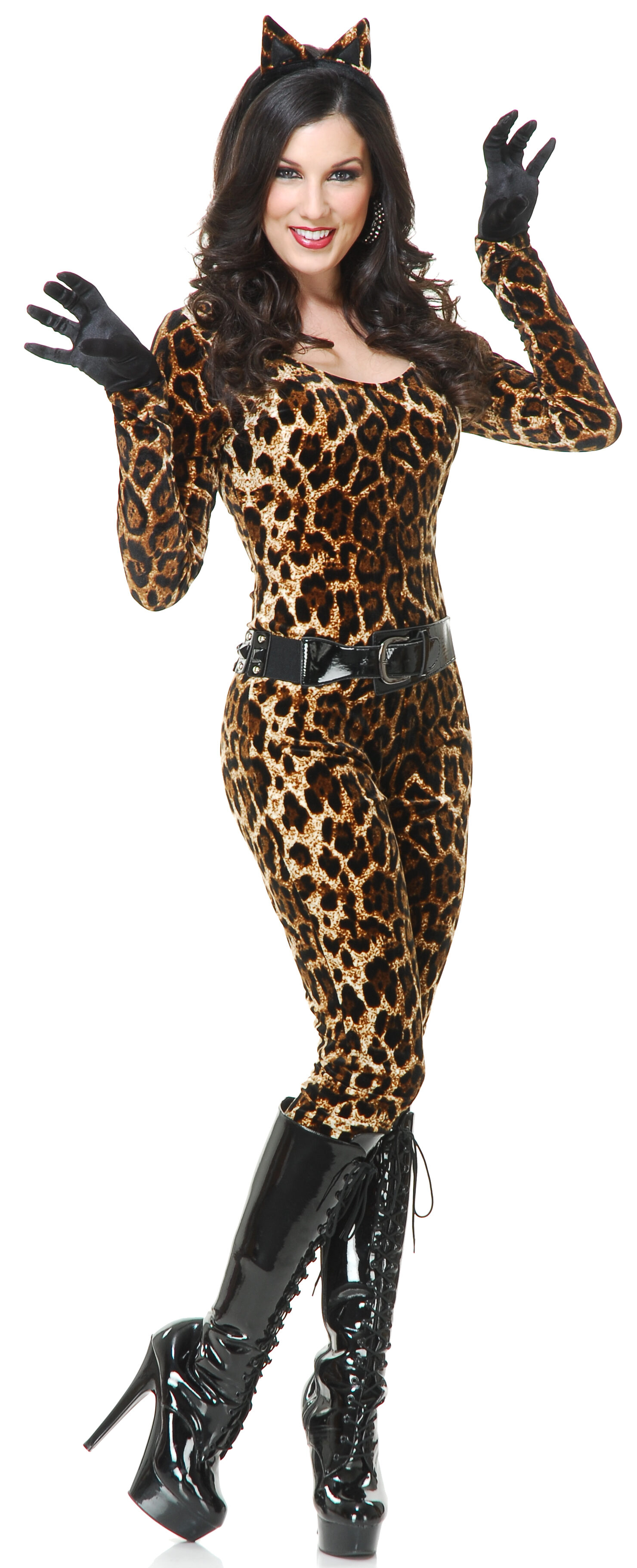 sc 1 st  Mr. Costumes & Sexy Leopard Cutie Cat Costume - Mr. Costumes