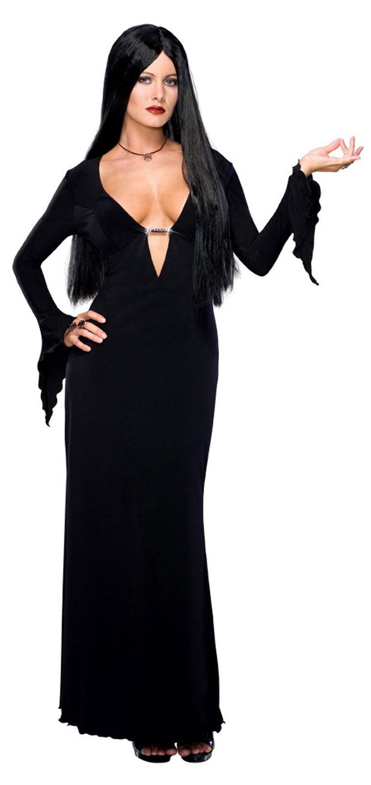 morticia addams sexy gothic costume mr costumes. Black Bedroom Furniture Sets. Home Design Ideas
