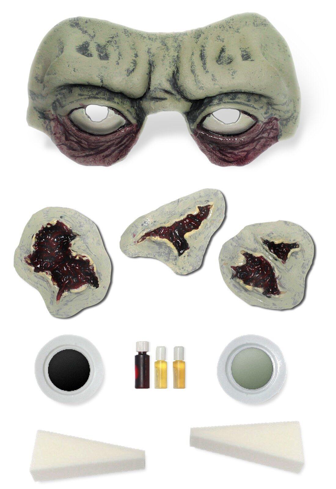 Graveyard Zombie Makeup Kit - Mr. Costumes