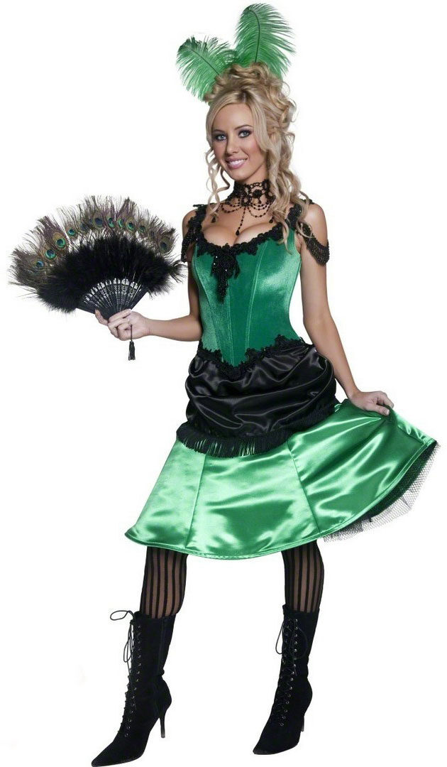 Saloon girl costumes, Saloon girls and Girl costumes on Pinterest