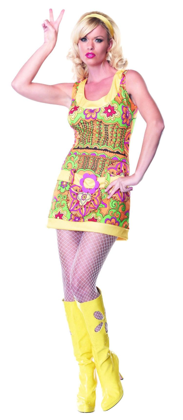 Funky Mod Hippie Costume Costumes
