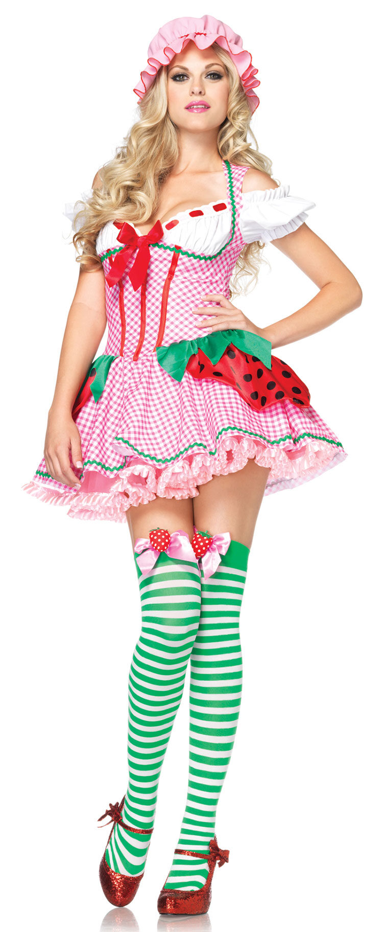 Strawberry Beauty Adult Costume - Mr. Costumes
