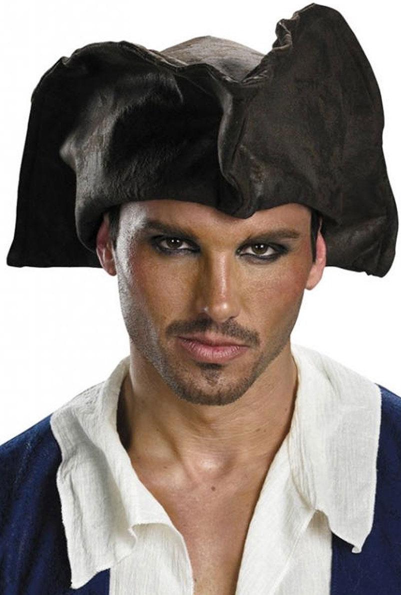 Authentic Adult Pirate Hat Mr Costumes