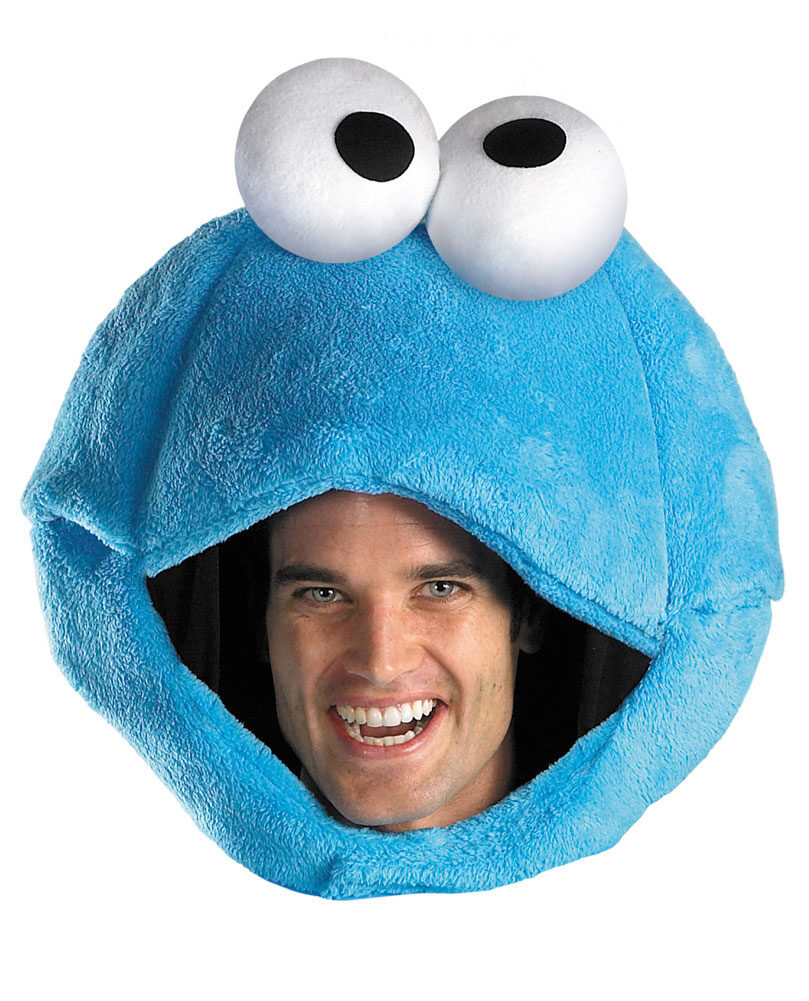 sc 1 st  Mr. Costumes & Sesame Street Cookie Monster Adult Headpiece - Mr. Costumes