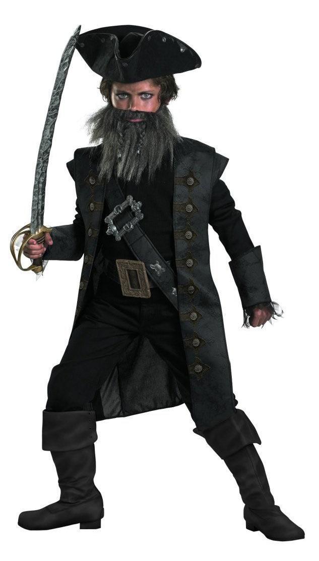 sc 1 st  Mr. Costumes & Black Beard Pirates of the Caribbean Kids Costume - Mr. Costumes