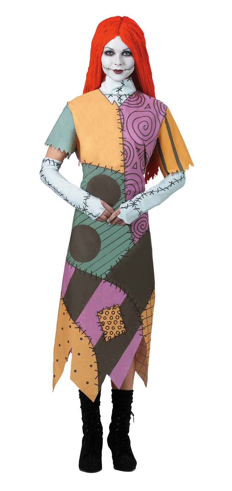 Nightmare Before Christmas Sally Gothic Adult Costume - Mr. Costumes