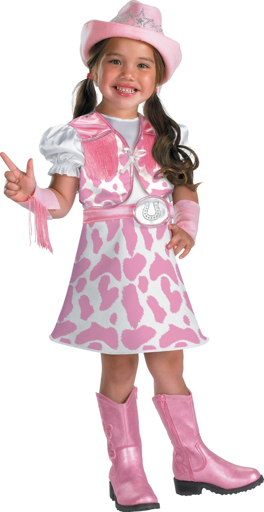 Kids Wild West Cutie Toddler Cowgirl Costume Costumes