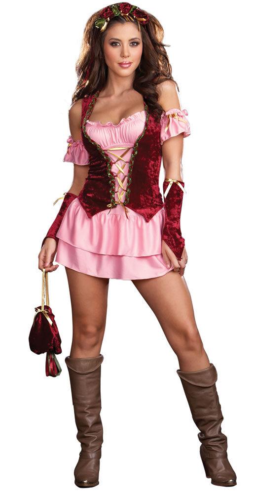 Exceptionnel Pleasure Faire Sexy Renaissance Wench Costume - Mr. Costumes VO39