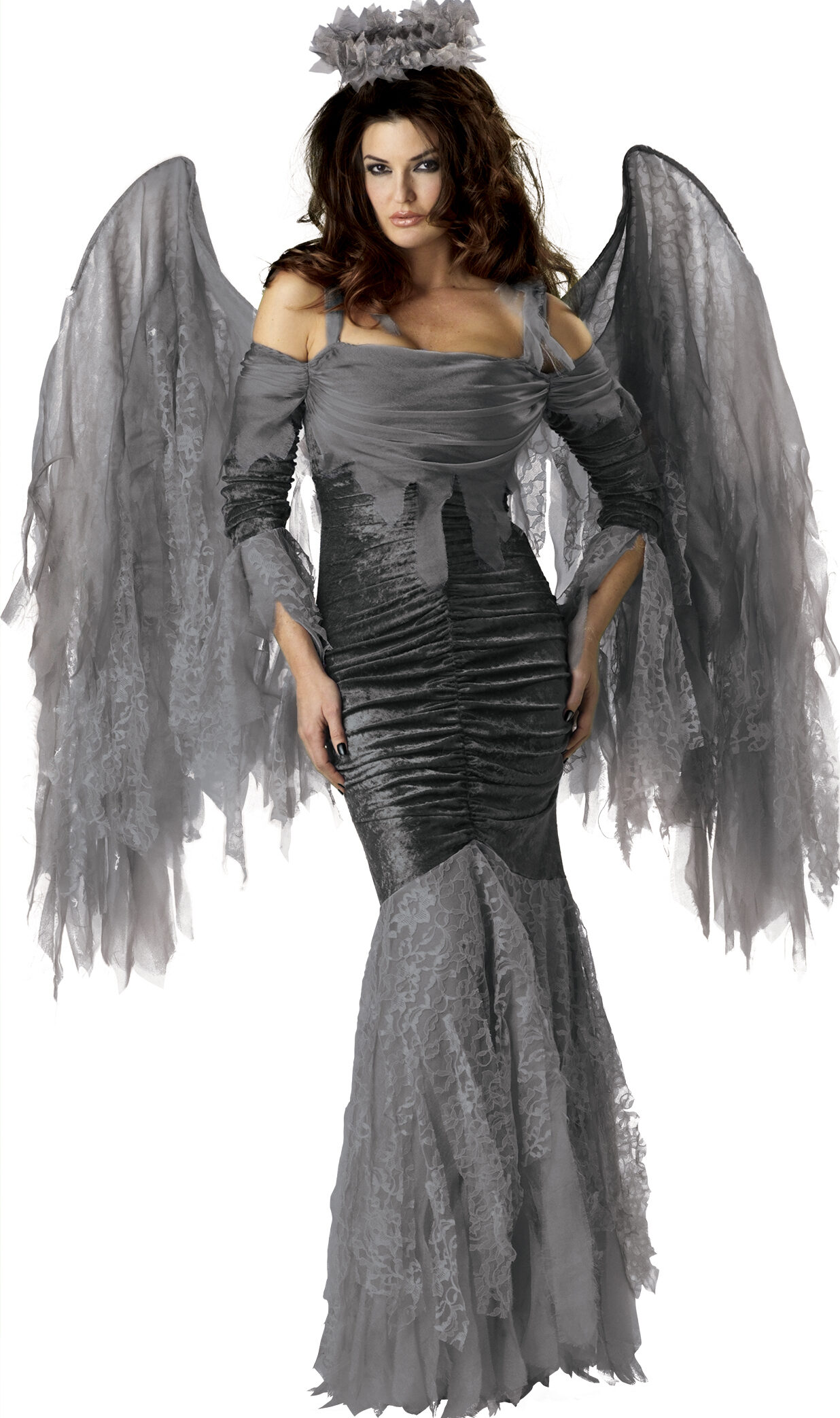 gothic fallen angel adult costume mr costumes. Black Bedroom Furniture Sets. Home Design Ideas