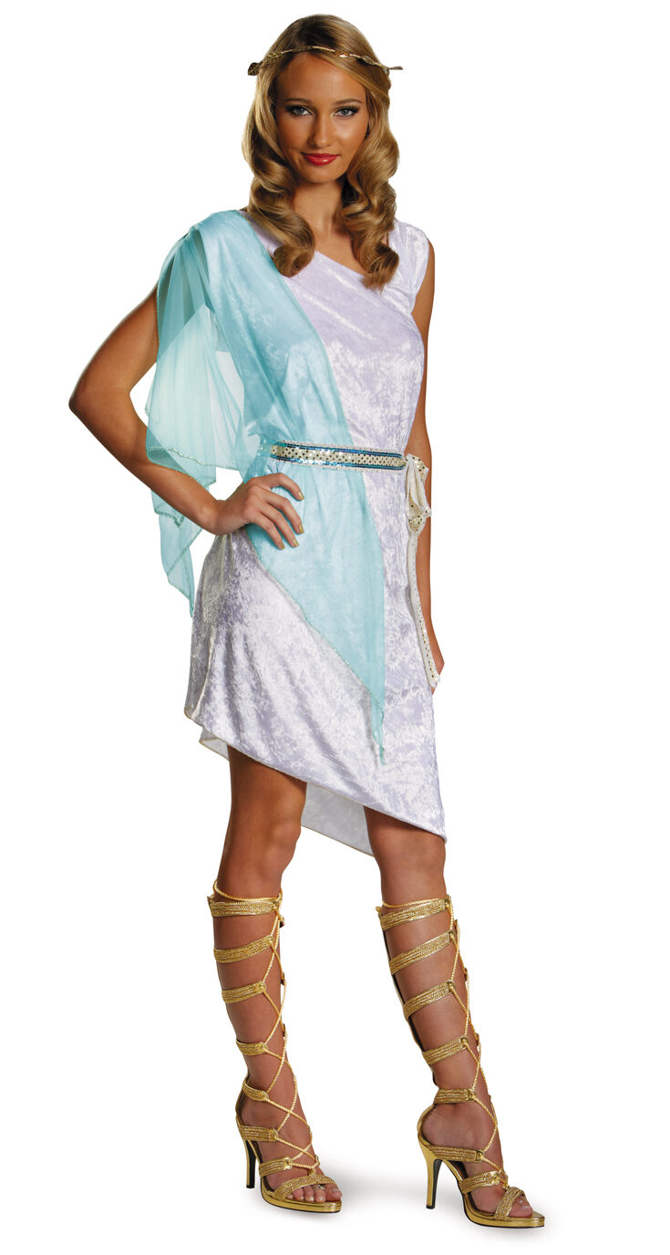 Greek Goddess of Love Adult Costume - Mr. Costumes