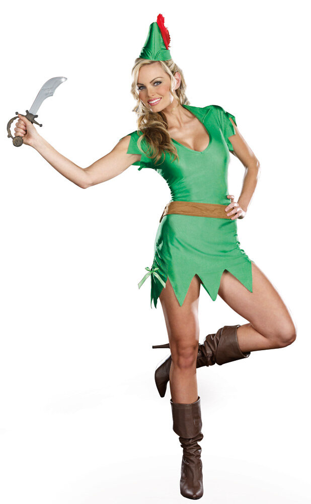 sexy storybook peter pan costume mr costumes. Black Bedroom Furniture Sets. Home Design Ideas