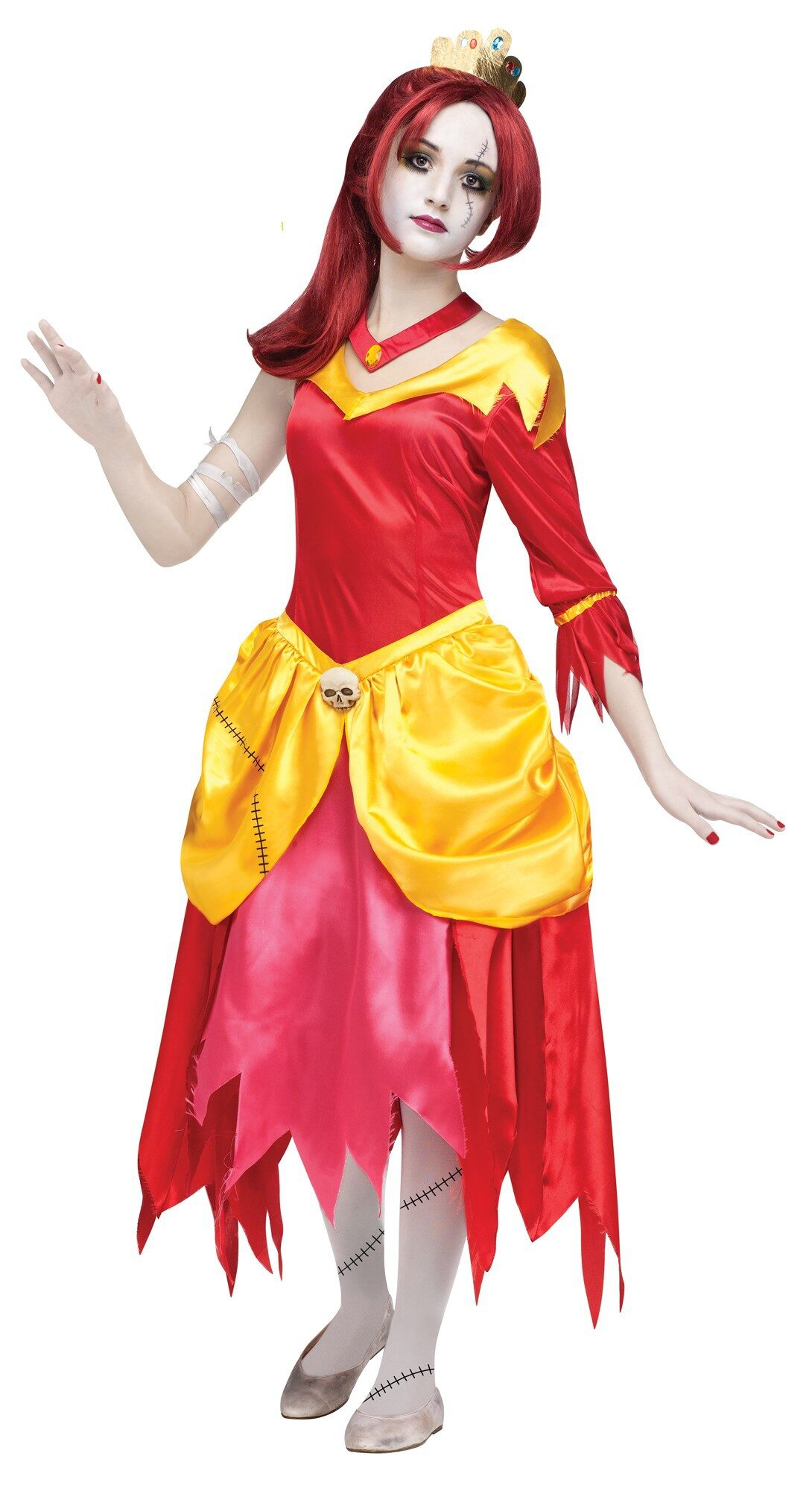 sc 1 st  Mr. Costumes & Zombie Belle Princess Kids Costume - Mr. Costumes