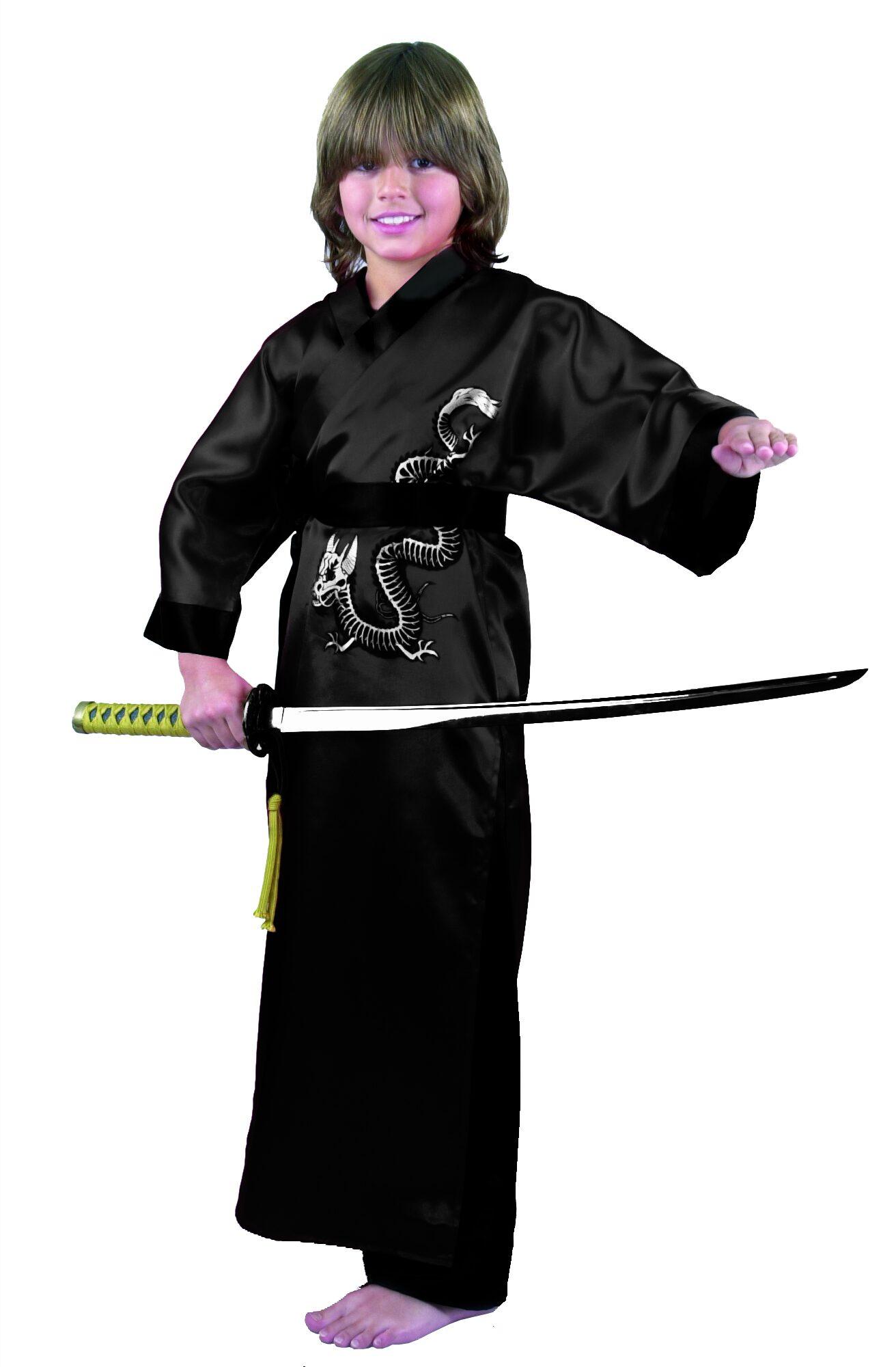 Dragon Master Samurai Ninja Kids Costume  sc 1 st  Mr. Costumes & Japanese Costumes - Mr. Costumes