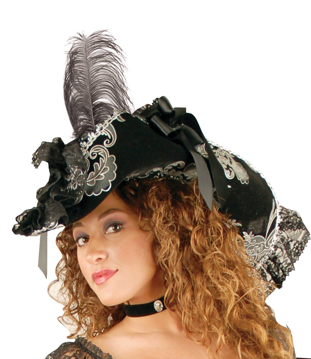 Lacy Pirate Hat - Mr. Costumes dd4e8a32e8b