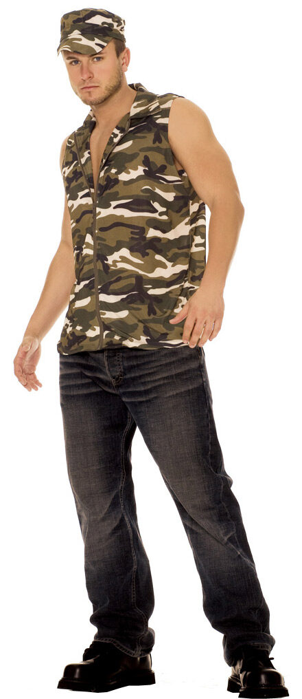 Mens Army Adult Costume - Mr. Costumes