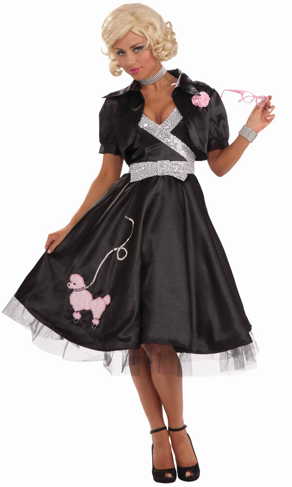 50s Poodle Skirt Diva Adult Costume