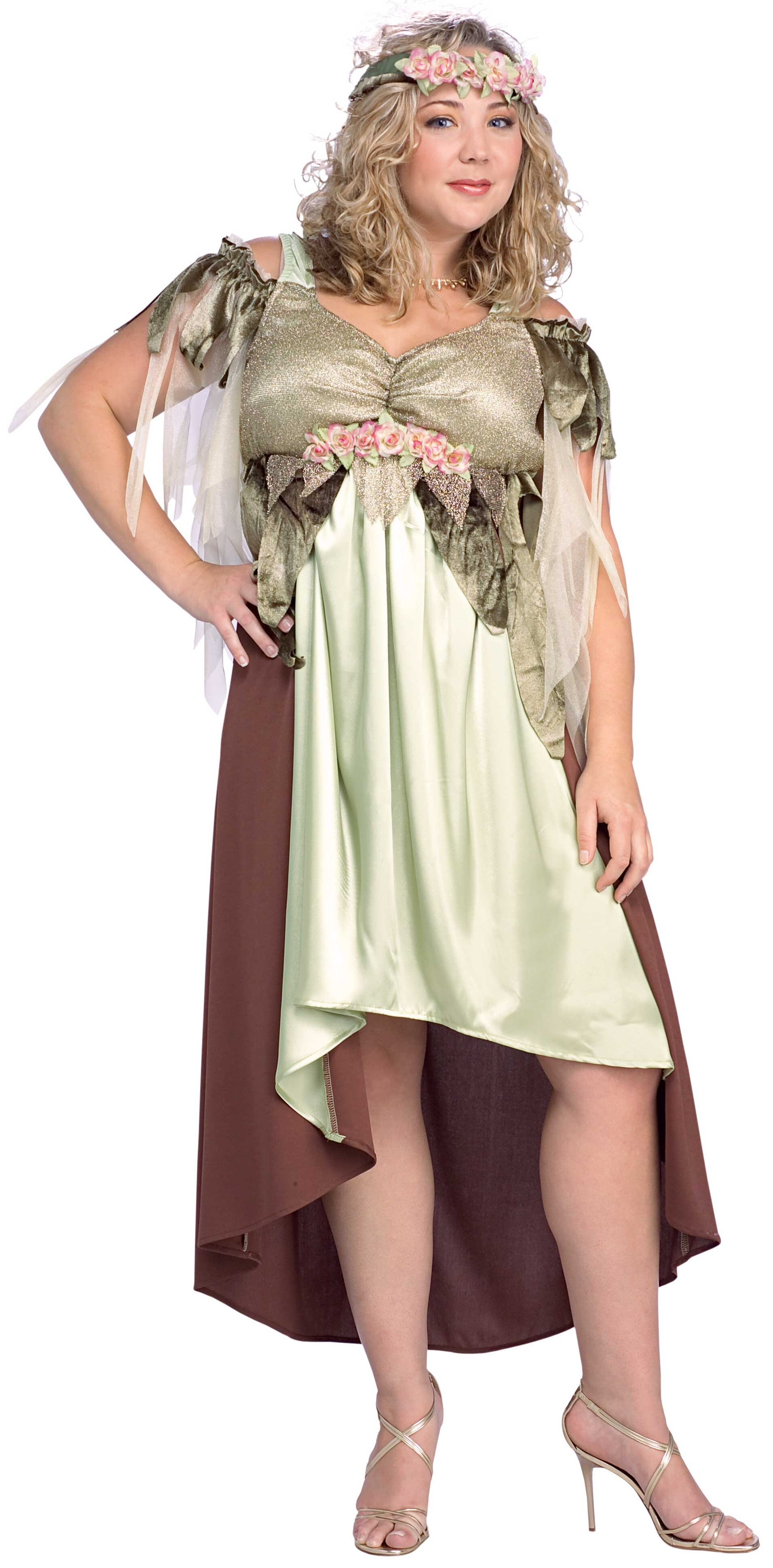 Mother Nature Fairy Plus Size Costume - Mr. Costumes
