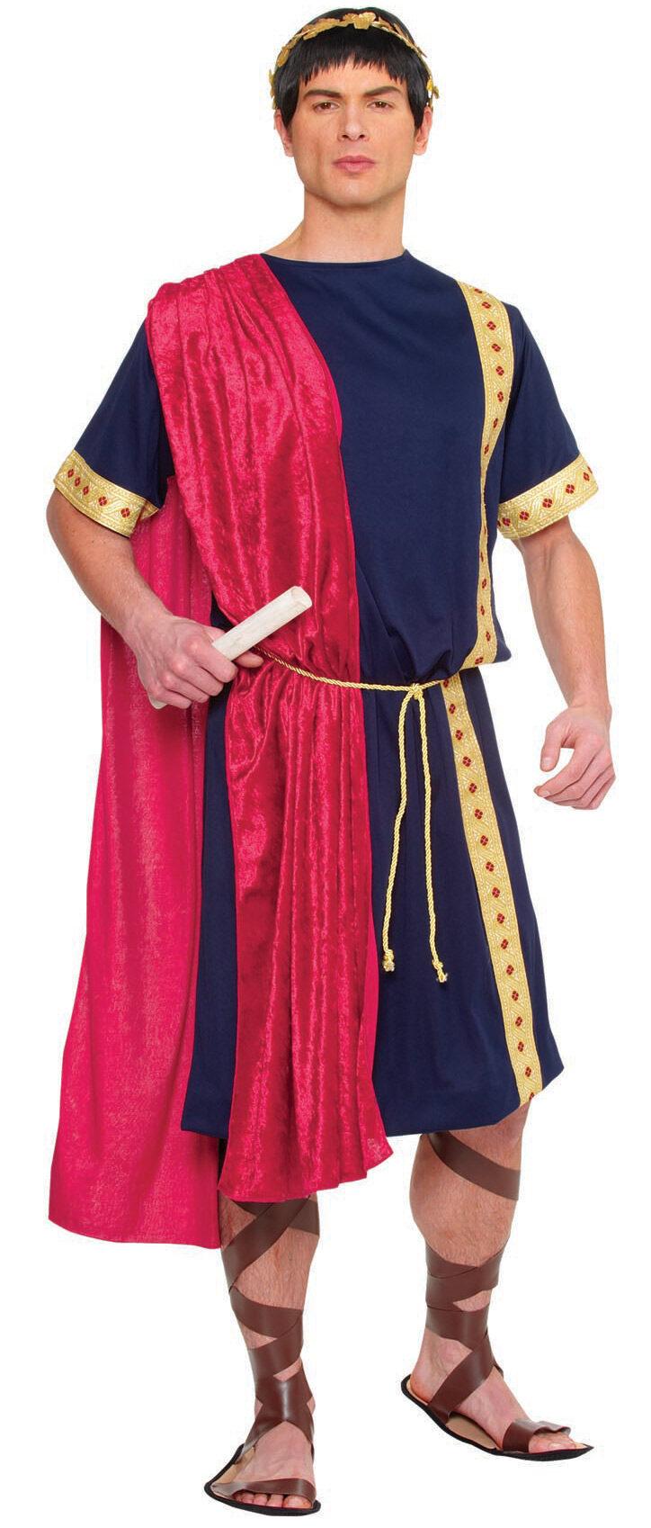 Mens Roman Senator Adult Costume - Mr. Costumes