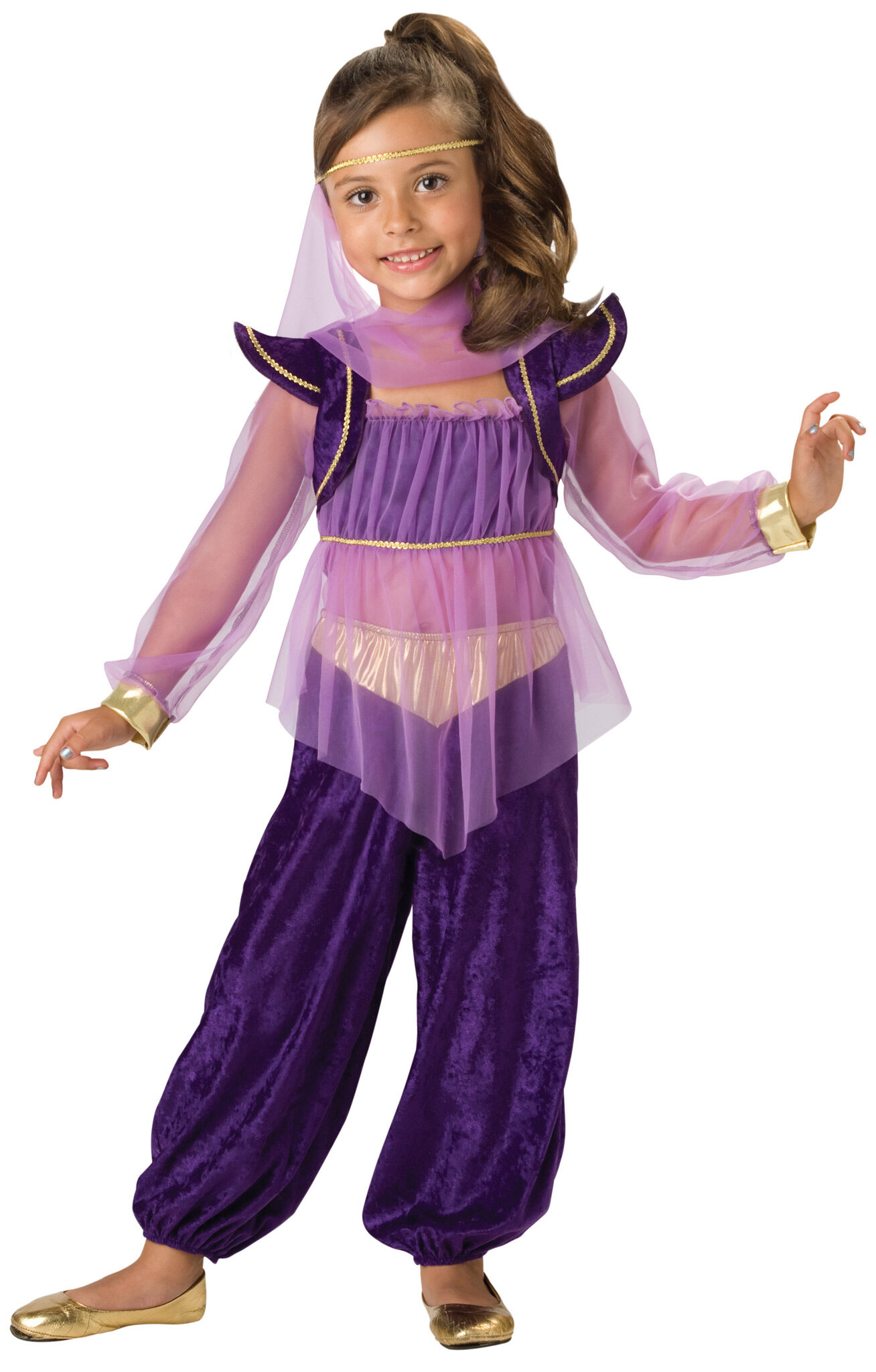 Girls Dreamy Genie Kids Costume  sc 1 st  Mr. Costumes & Genie Costumes - Mr. Costumes