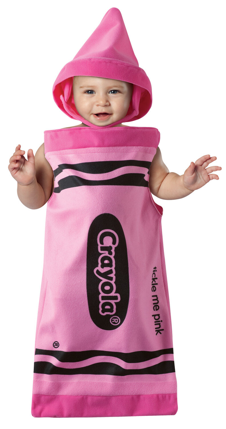 sc 1 st  Mr. Costumes & Tickle Me Pink Bunting Crayon Baby Costume - Mr. Costumes