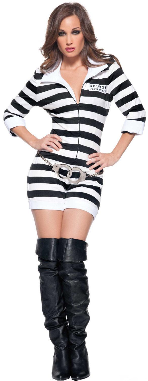 Jailbird Halloween Costume