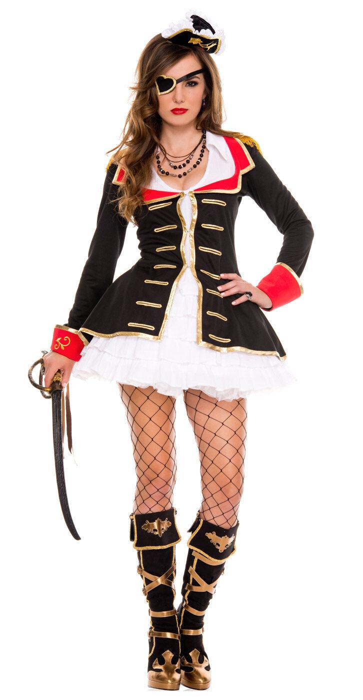 Sexy Cute Pirate Captain Costume - Mr. Costumes