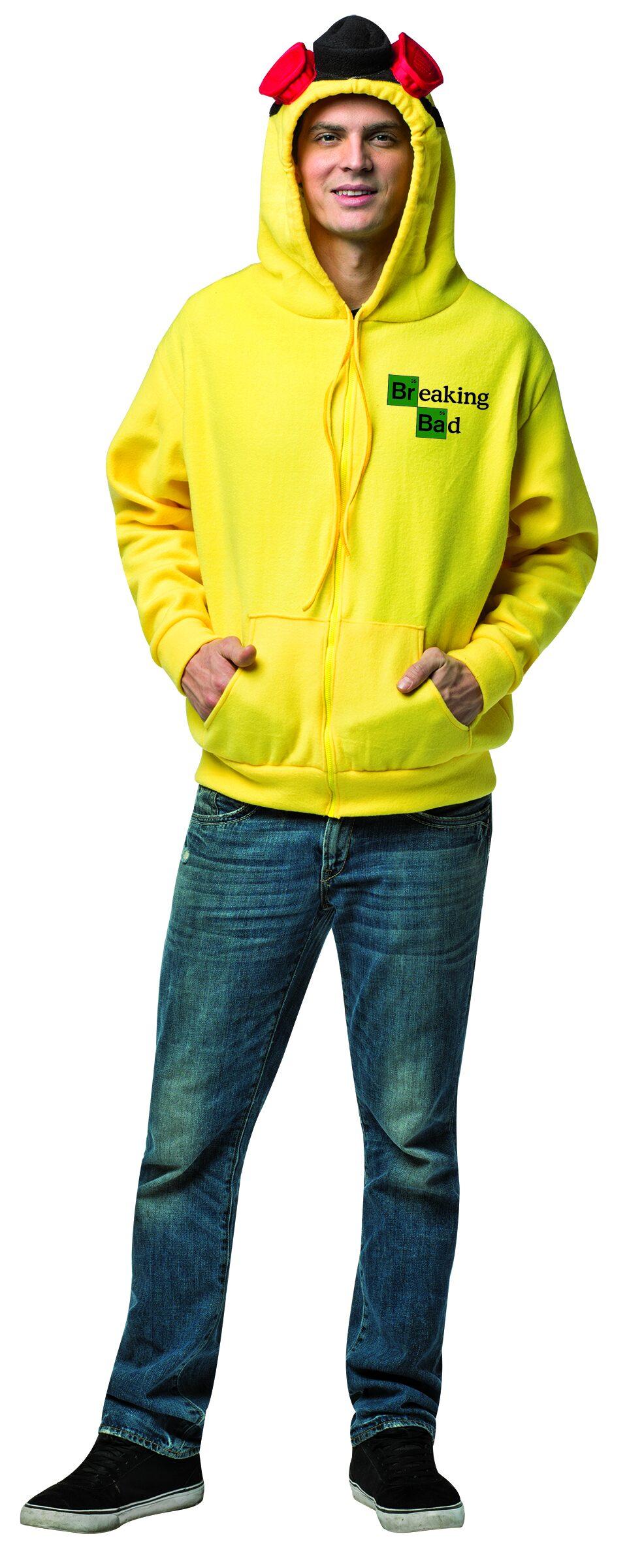 Funny Breaking Bad Hoodie Adult Costume - Mr. Costumes