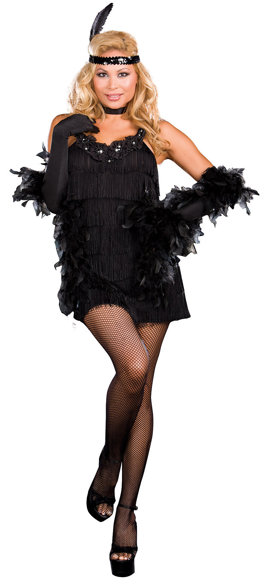 d86e2d0970b All That Jazz Sexy Plus Size Flapper Costume - Mr. Costumes
