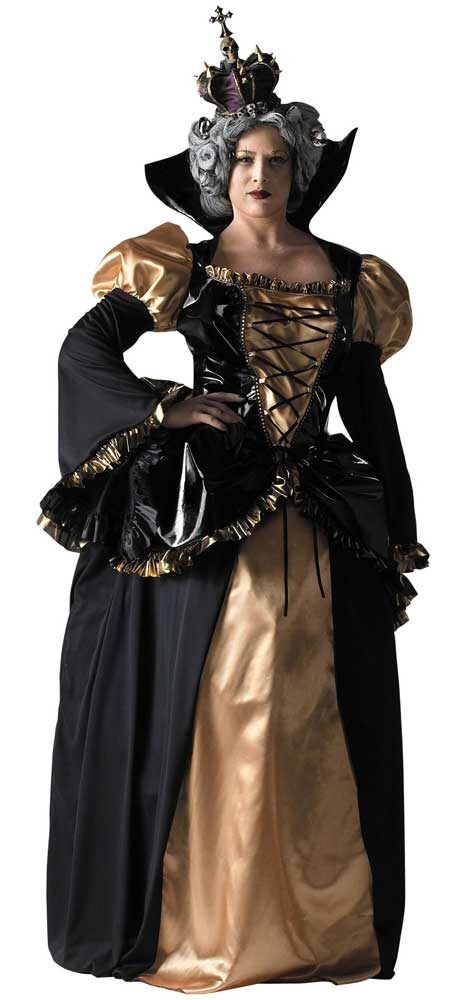 06787203f72 Sc 1 St Mr. Costumes. image number 6 of medieval queen costume plus size ...