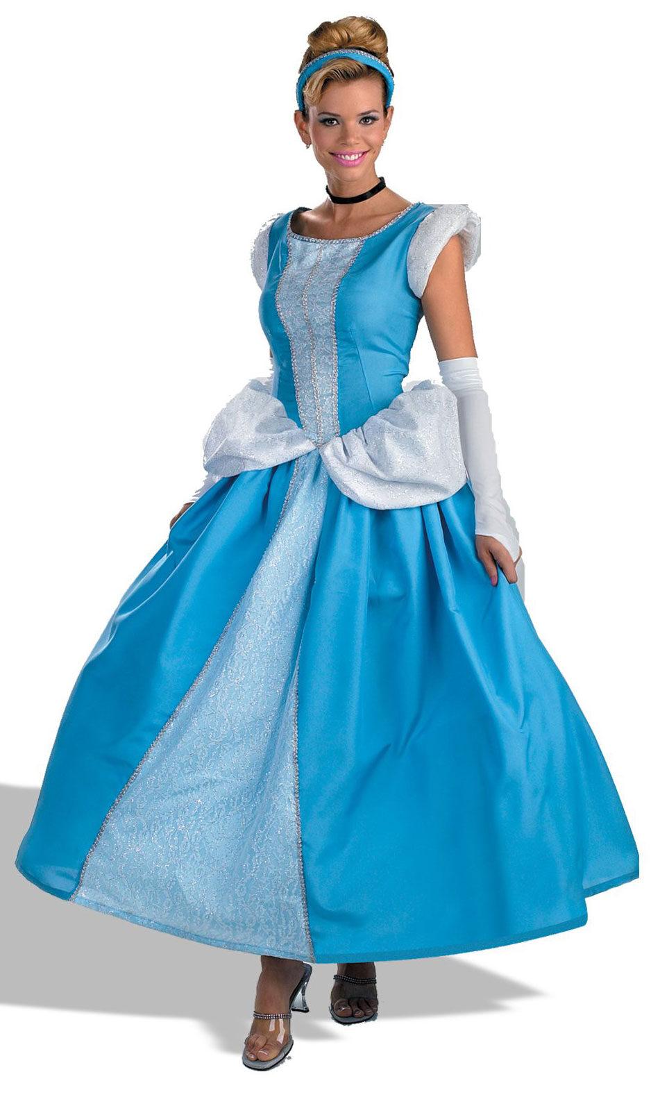 adult disney prestige princess cinderella costume mr. Black Bedroom Furniture Sets. Home Design Ideas